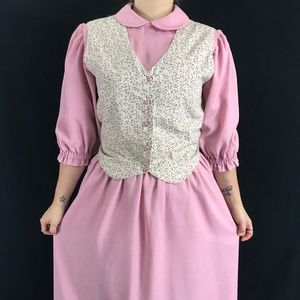 Handmade Vintage Prairie Style Dress
